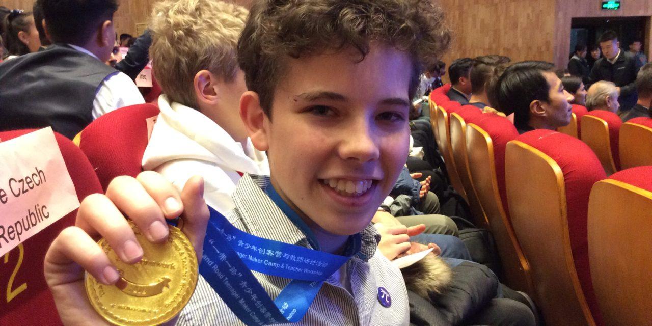 Talentovaní žáci z Wichterlova gymnázia získali v Pekingu pět ocenění